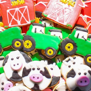 These cookies were the hit of the party.