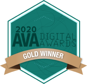 Gold AVA Digital Award